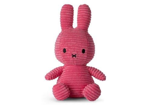 Nijntje Nijntje corduroy bubblegum pink 23cm
