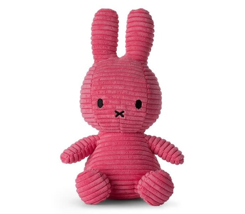 Nijntje corduroy bubblegum pink 23cm