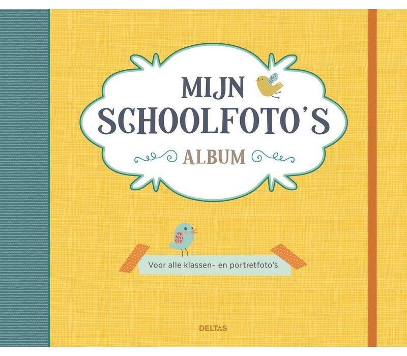 Schoolfoto album geel