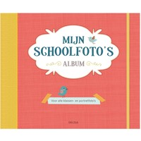 Schoolfoto album oranje