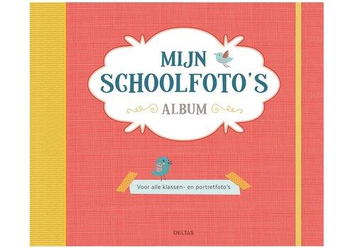 Deltas Schoolfoto album oranje