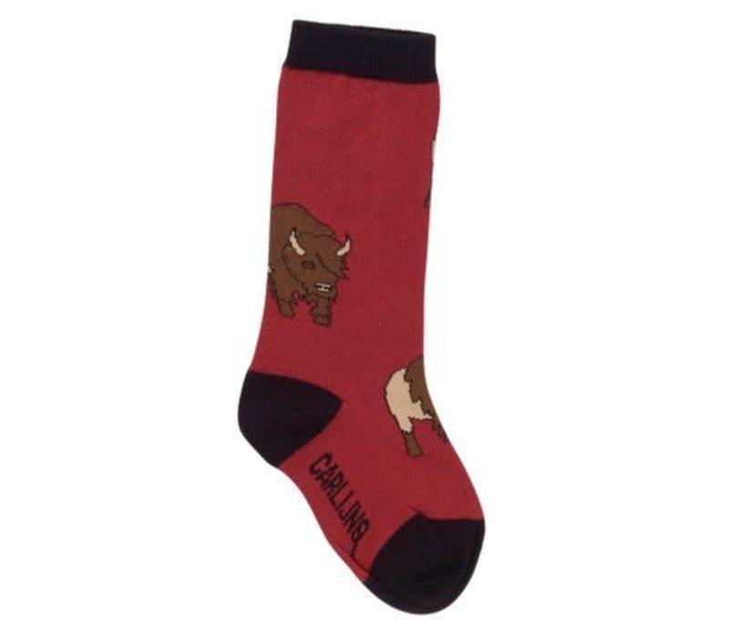 CarlijnQ bison - knee socks