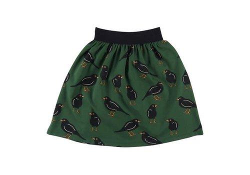 CarlijnQ CarlijnQ black bird - long skirt