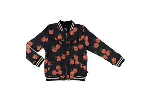 CarlijnQ CarlijnQ blackberry - bomberjacket (lined with black fur)