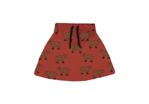 CarlijnQ CarlijnQ capybara - skirt + pocket