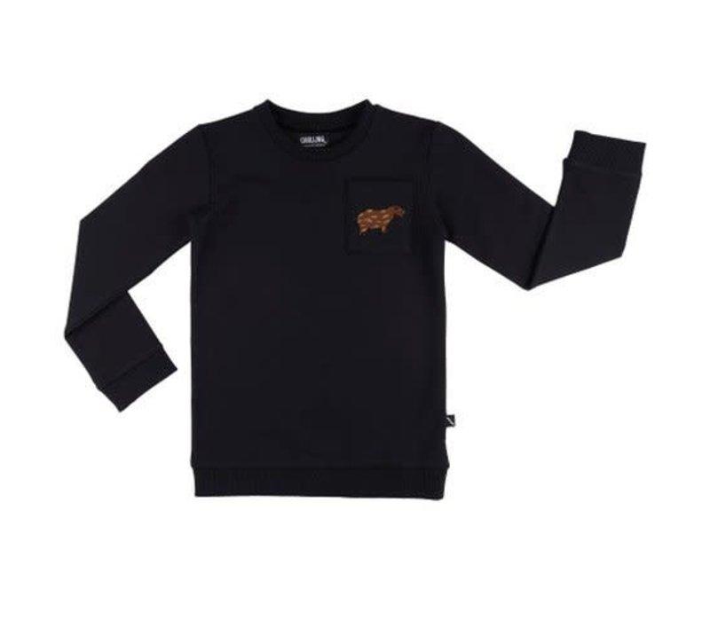 CarlijnQ capybara - sweater + pocket