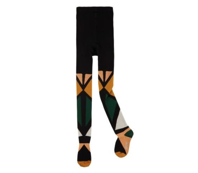 CarlijnQ color blocks - tights