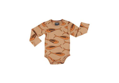 CarlijnQ CarlijnQ gold fish - bodysuit