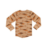 CarlijnQ gold fish - longsleeve (drop back)