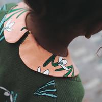 CarlijnQ snow drop - collar dress