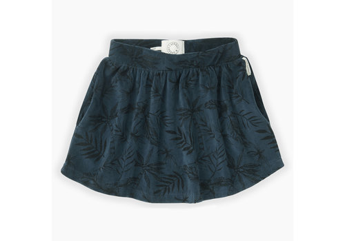 Sproet & Sprout Sproet & Sprout Velvet skirt tropical AOP