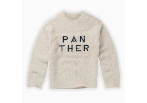 Sproet & Sprout Sproet & Sprout Sweater Panther text