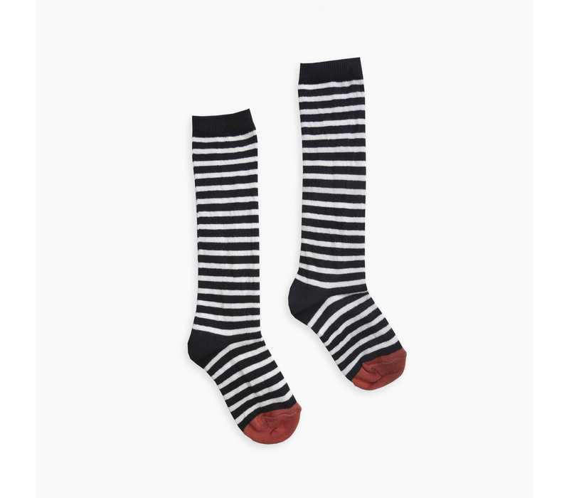 Sproet & Sprout High sock stripe