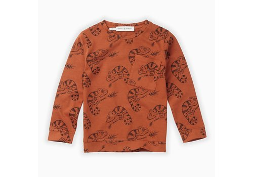 Sproet & Sprout Sproet & Sprout T-shirt Chameleon AOP