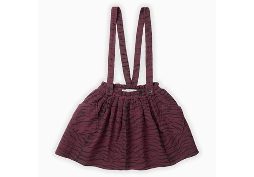 Sproet & Sprout Sproet & Sprout Woven skirt Tiger AOP