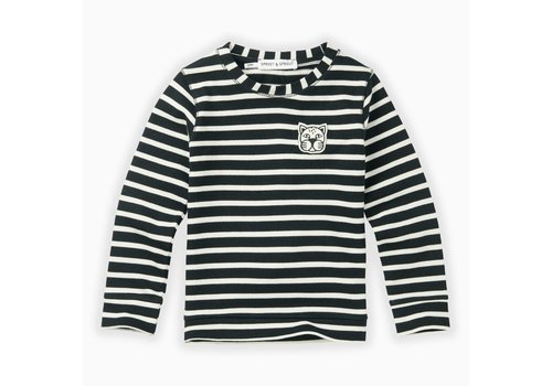 Sproet & Sprout Sproet & Sprout T-shirt jersey Y/D stripe