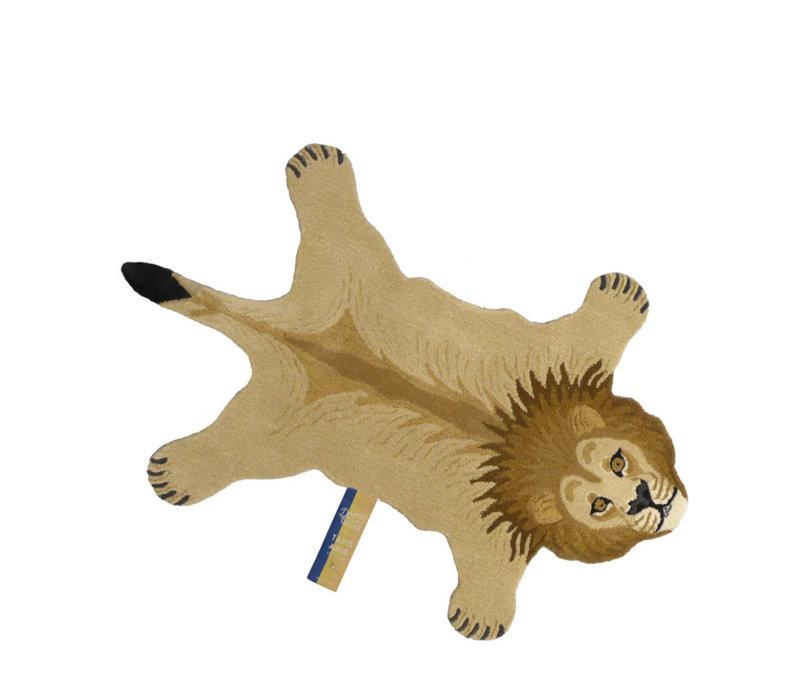 Doing Goods vloerkleed leeuw large