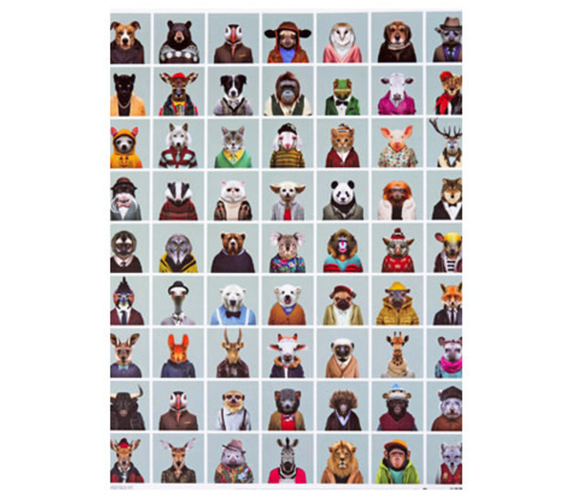 Poster Zoo portraits
