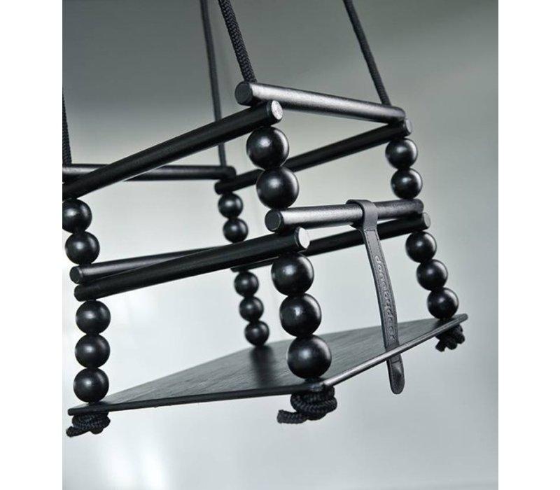 Done by Deer Wooden swing, black