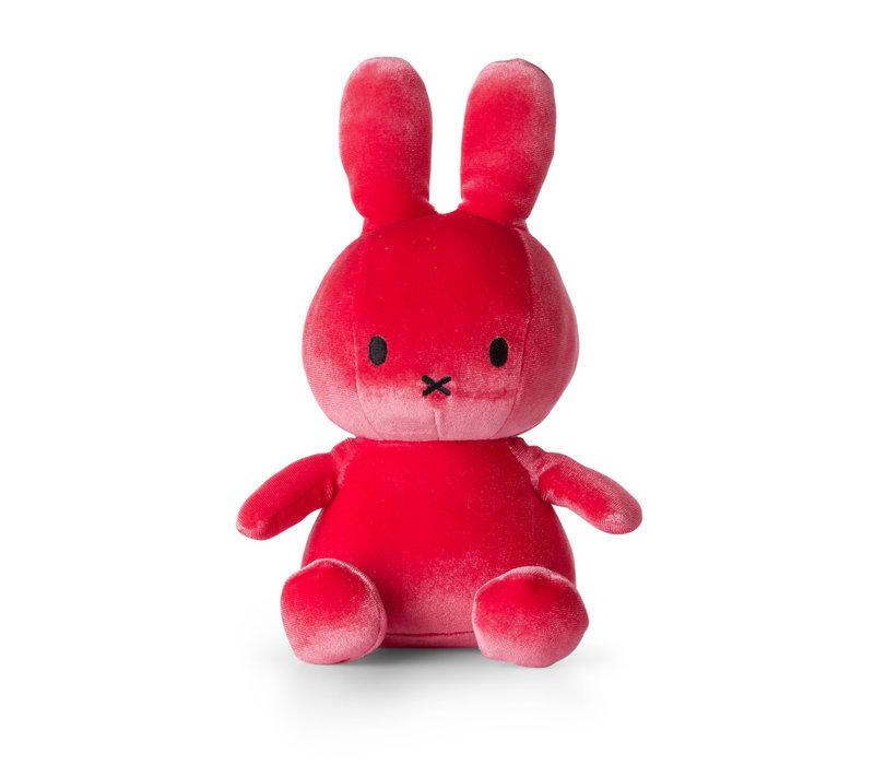 Nijntje velvet knuffel candy pink 23 cm