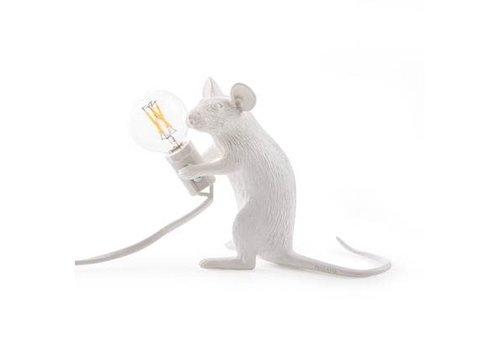 Seletti Seletti Mouse Lamp zittend