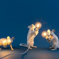 Seletti Mouse Lamp liggend