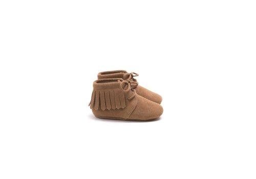 Mockies Mockies Fringe Boots Camel