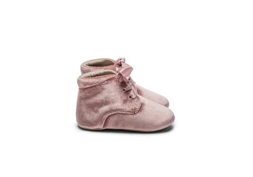 Mockies Mockies Classic Boots Velvet Pink LIMITED