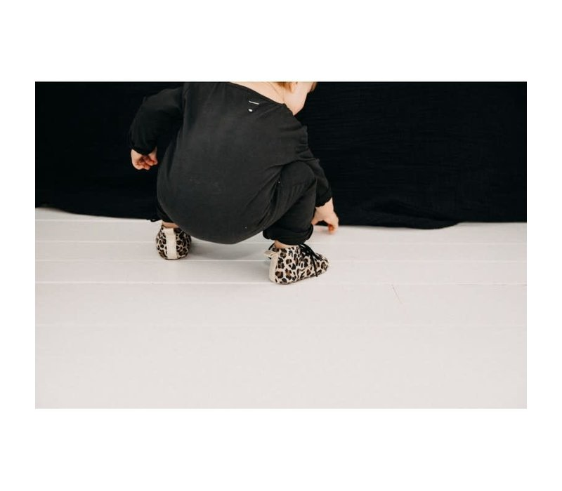 Mockies Classic Boots Leopard/Gold