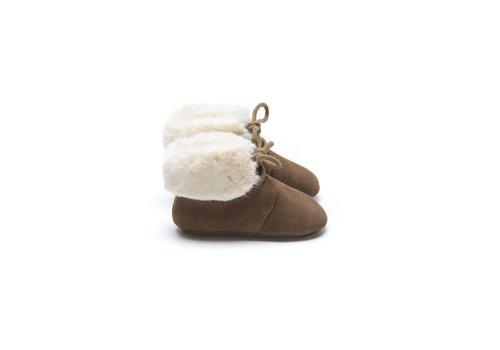 Mockies Mockies Fur Boots Brown