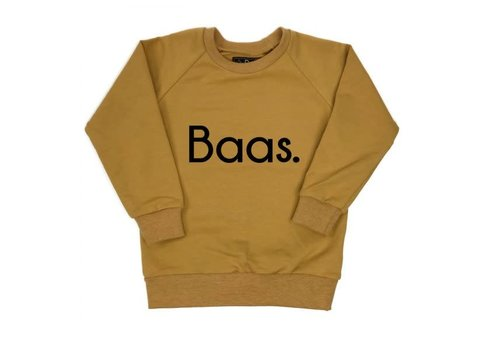KMDB KMDB Sweater Baas Ocre