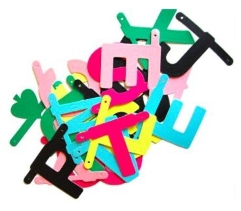 Wordbanner multicolor