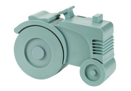 Blafre Blafre tractor broodtrommel blauw