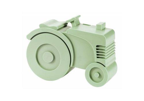Blafre Blafre tractor broodtrommel groen
