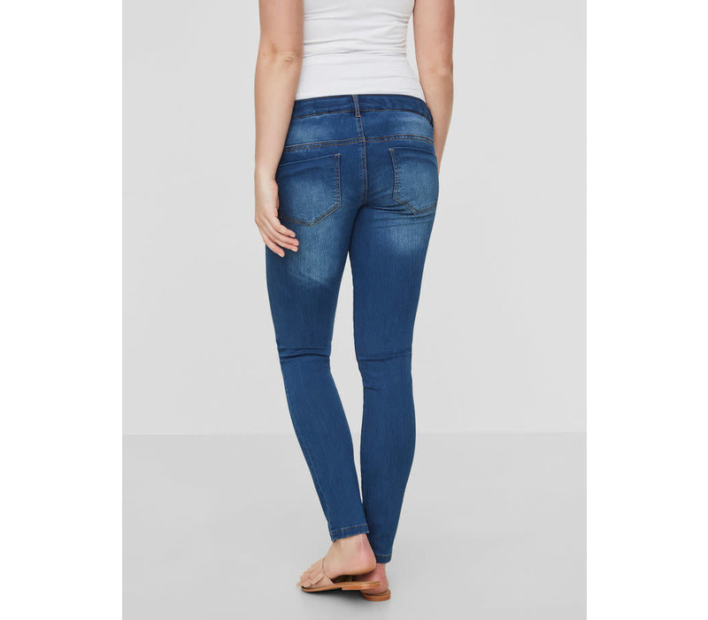 Mamalicious Fifty 002 SLIM JEANS