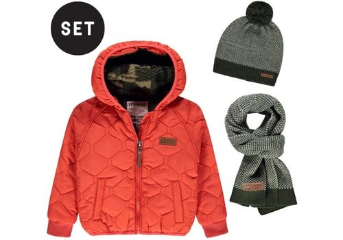 Tumble 'N Dry Tumble 'N Dry winterjas Stuart Orange