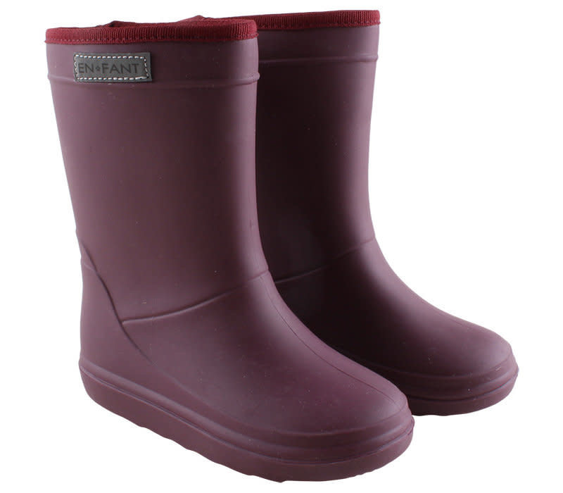 Enfant Thermo Boot Bordeaux
