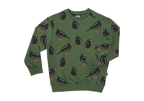 CarlijnQ CarlijnQ black bird - sweater