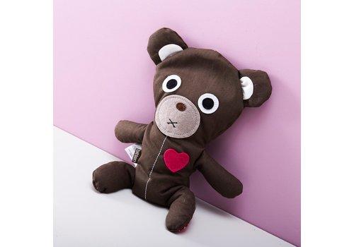 Bitten Bitten warmtekussen Dark bear