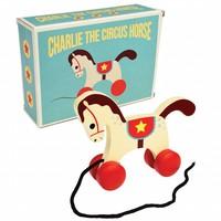 Trekfiguur circuspaard