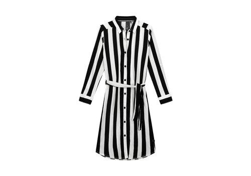 Levv Levv FABIEN S201 Black White Stripe