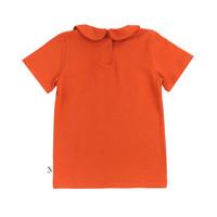 CarlijnQ Basics - t-shirt collar (cinnamon)