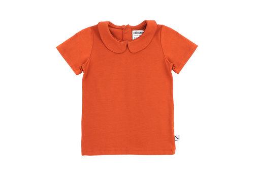 CarlijnQ CarlijnQ Basics - t-shirt collar (cinnamon)