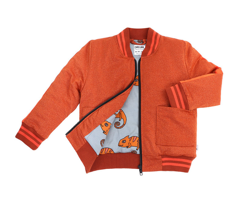 CarlijnQ Glitter - bomberjacket + embroidery