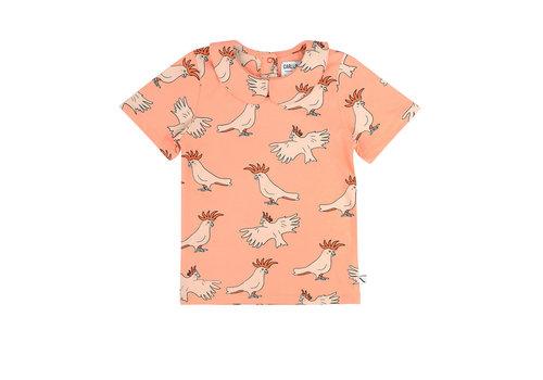 CarlijnQ CarlijnQ Parrot - t-shirt collar