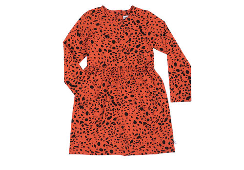CarlijnQ CarlijnQ Spotted animal - dress longsleeve
