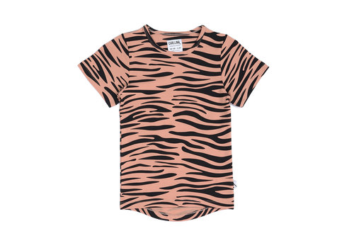 CarlijnQ CarlijnQ Tiger - t-shirt dropback