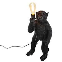 Aap lamp zwart