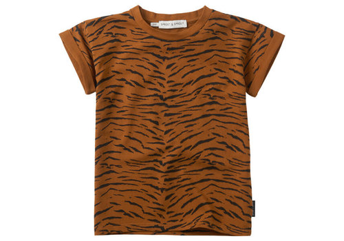 Sproet & Sprout Sproet & Sprout T-shirt Tiger