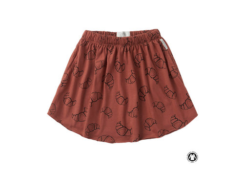 Sproet & Sprout Sproet & Sprout Skirt print Croissant